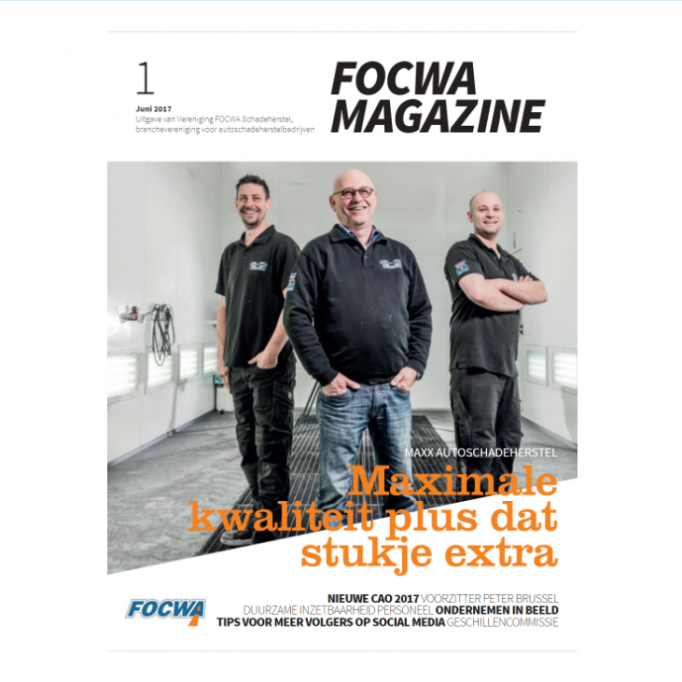Cover FOCWA magazine